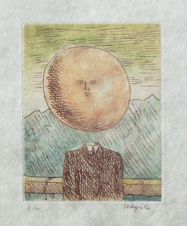 Eau-Forte Et Aquatinte Magritte - L'art de vivre