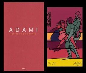 Livre Illustré Adami - L'art en écrit