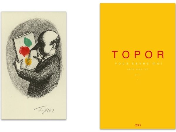 Livre Illustré Topor - L'Art en écrit