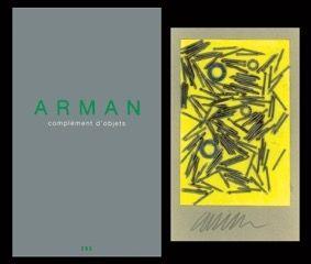 Livre Illustré Arman - L'art en écrit