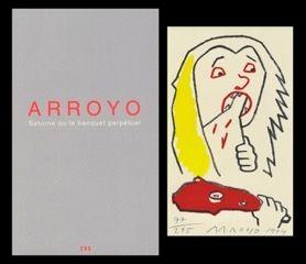 Livre Illustré Arroyo - L'art en écrit
