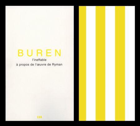 Livre Illustré Buren - L'art en écrit