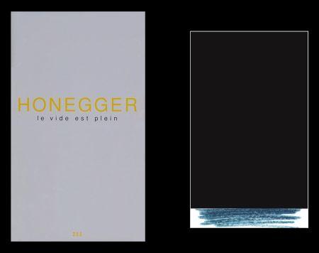 Livre Illustré Honegger - L'art en écrit