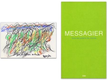 Livre Illustré Messagier - L'art en écrit