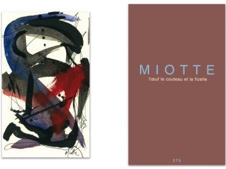 Livre Illustré Miotte - L'art en écrit