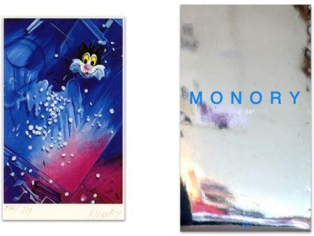 Livre Illustré Monory - L'art en écrit