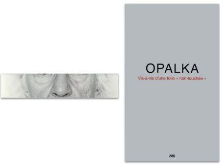 Livre Illustré Opalka - L'art en écrit