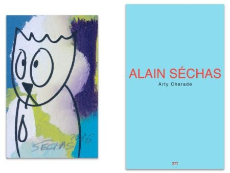 Livre Illustré Séchas - L'Art en écrit