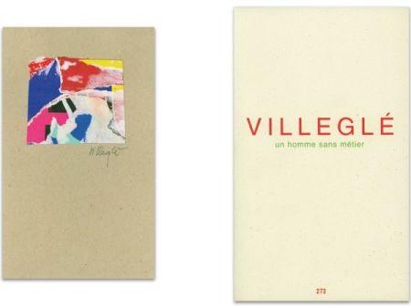 Livre Illustré Villeglé - L'Art en écrit