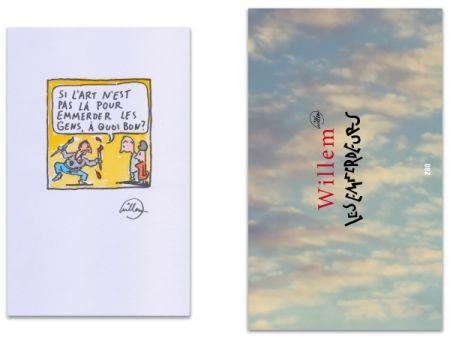 Livre Illustré Willem - L'Art en écrit