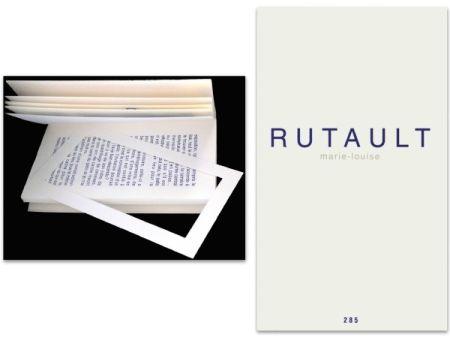 Livre Illustré Rutault - L'art en écrit