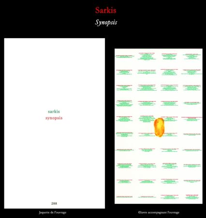 Livre Illustré Sarkis - L'Art en écrit