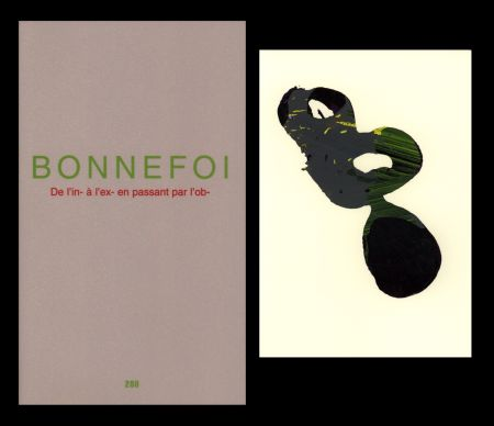 Livre Illustré Bonnefoi - L'Art en écrit