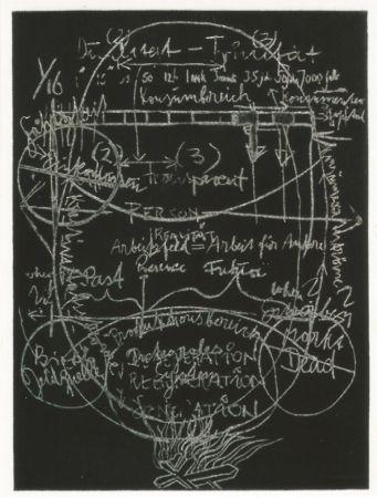 Aquatinte Beuys - L'arte è una zanzara dalle mille ali - III