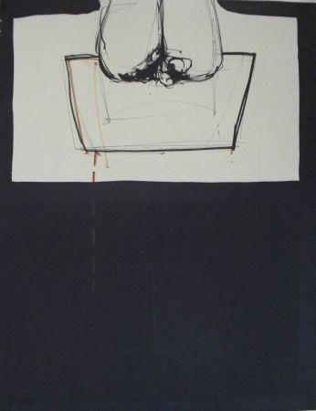 Lithographie Hernandez Pijuan - Las celdas