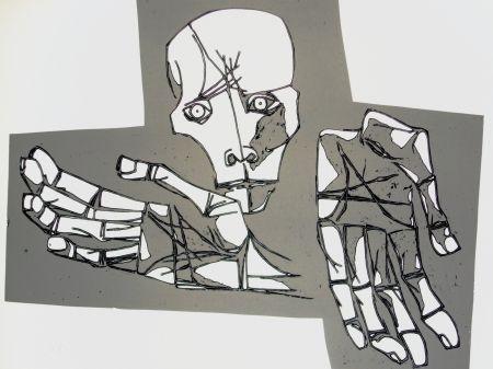 Gravure Guayasamin - Las manos desoladas