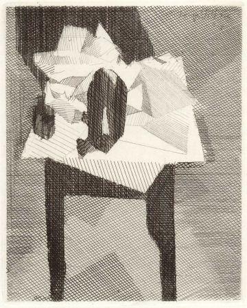Lithographie Villon - LASSAIGNE (Jacques). Eloge de Jacques Villon.