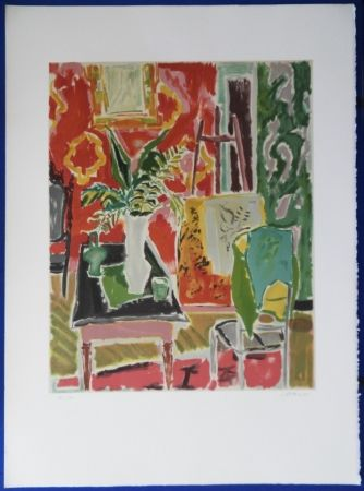 Lithographie Cavailles - L'atelier