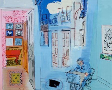 Lithographie Dufy - L'atelier de Impasse Guelma