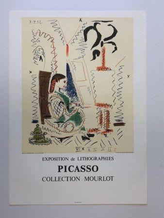 Affiche Picasso - L'atelier de lannes