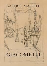Affiche Giacometti - L'atelier de l'artiste