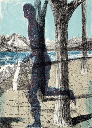 Lithographie Desgrandchamps - Latona 3