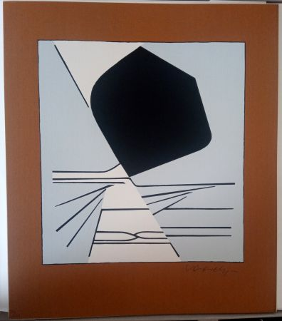 Sérigraphie Vasarely - Latorça