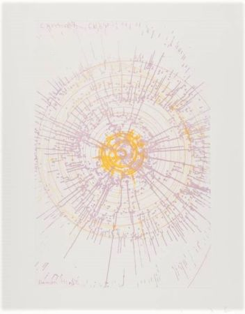 Gravure Hirst - Lavender Baby, from