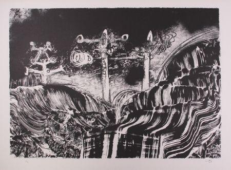 Lithographie Matta - Le acque d'arno