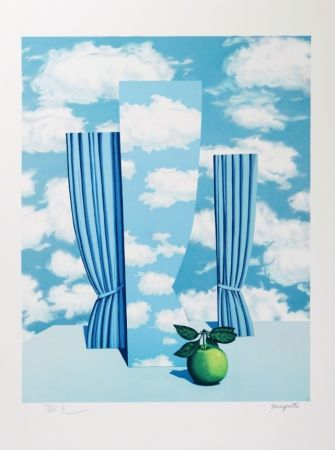 Lithographie Magritte - Le Beau Monde