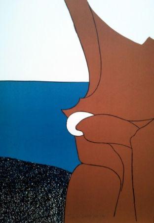 Lithographie Artigas - LE BIJOU BLANC