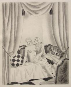 Livre Illustré Leroy  - Le bon plaisir, Le malheureux petit voyage, La belle sans chemise, Le Diable amoureux, La Fille aux yeux d'or, etc.