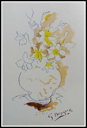 Lithographie Braque (After) - LE BOUQUET