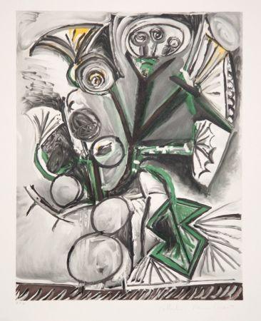 Lithographie Picasso - Le Bouquet