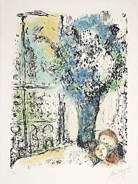 Lithographie Chagall -