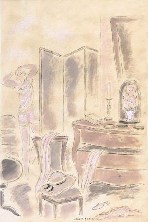 Livre Illustré Berque - Le bruit du silence.  Gouaches originales de Jean Berque.
