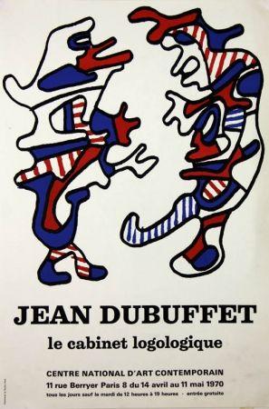 Lithographie Dubuffet - Le Cabinet Logologique