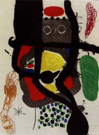 Eau-Forte Et Aquatinte Miró - Le Caissier