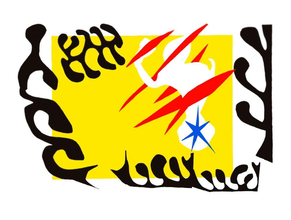 Lithographie Matisse - Le Cauchemar de l'Eléphant Blanc (The Nightmare of the White Elephant)