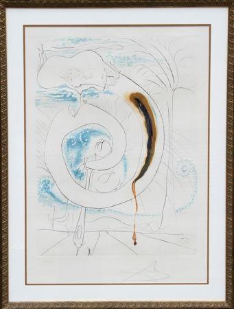 Gravure Dali - Le cercle visceral du Cosmos from La Conquete du Cosmos