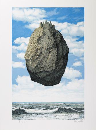 Lithographie Magritte - Le Château des Pyrénées (The Castle of the Pyrenees)