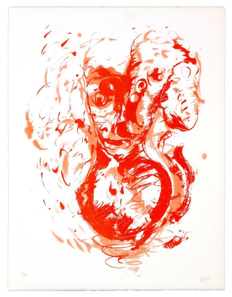 Lithographie Grinberg - Le changement en mauvais esprit