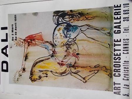 Affiche Dali - Le chevalier chrétien