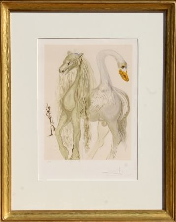 Lithographie Dali - Le Chimere d'Horace from Dalinean Horses