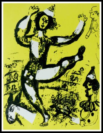 Lithographie Chagall - LE CIRQUE