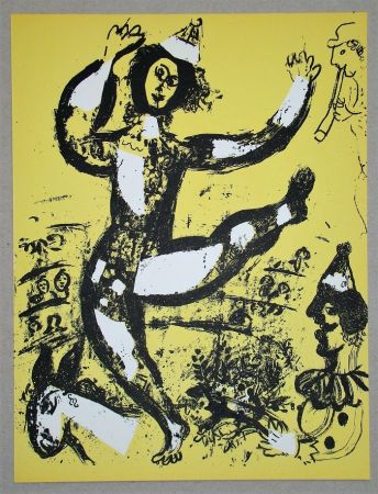 Lithographie Chagall - Le Cirque