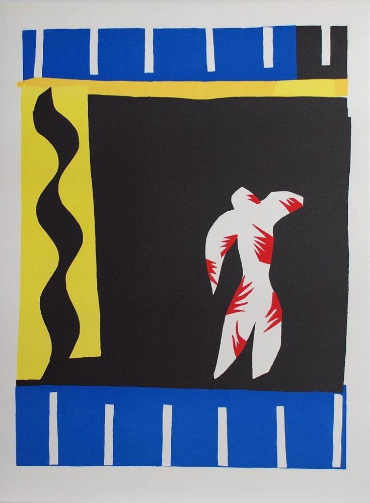 Collographie Matisse - Le Clown (The Clown)