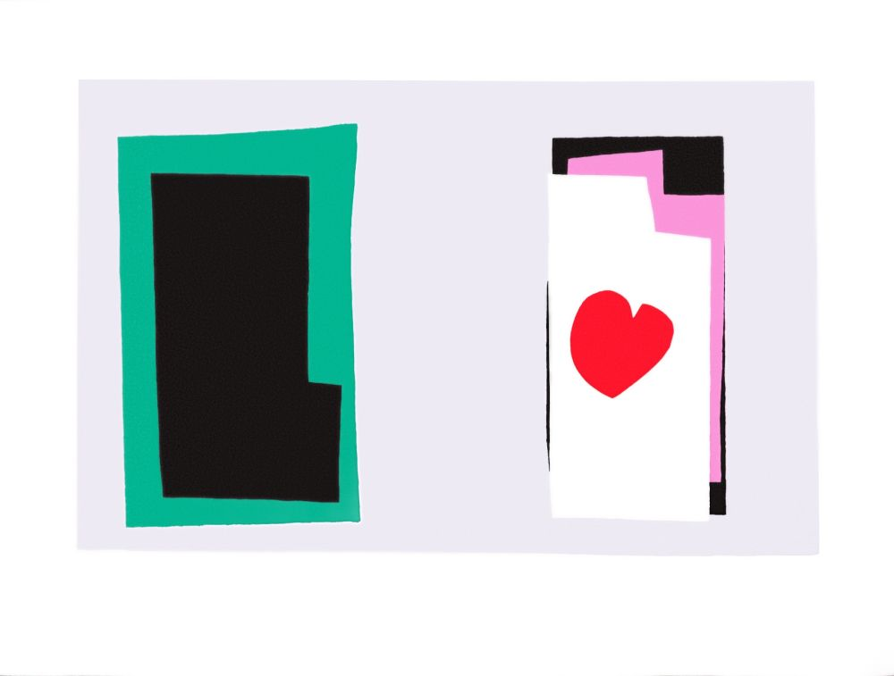 Lithographie Matisse - Le Coeur (The Heart)