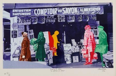 Sérigraphie Fromanger - Le Comptoir du Savon