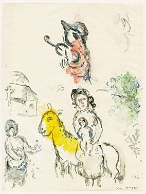 Monotype Chagall -